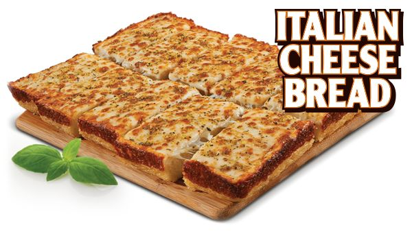 http://littlecaesars.coupon2000.com/ Little Caesars Menu Italian Cheese Bread Freshly baked bread with a crispy edge, covered with melted cheeses and topped with Italian spices. https://www.facebook.com/pages/Little-Caesars-Coupon/161837767328933