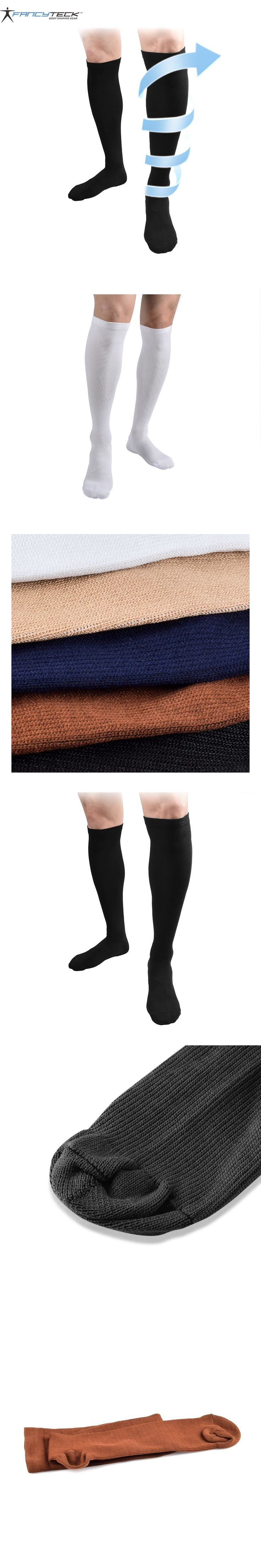 Men Women Long Miracle Compression Knee Socks Blood Circulation stockings Breathable Fat burn leg slimming socks