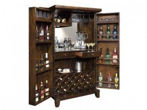 Барный шкаф Howard Miller 695-122 Rogue Valley Wine & Bar Cabinet