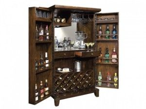 Барный шкаф Howard Miller 695-122 Rogue Valley Wine & Bar Cabinet