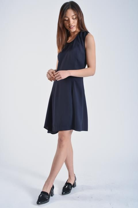 d5235c19791 Acne Studios Navy Dress