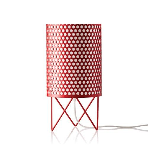 """The inspiration for the base of the lights came from the vaulted ceilings of the famous house of """"La Pedrera"""" whilst the cylindrical shape. http://www.ylighting.com/gubi-pedrera-abc-table-lamp.html"""