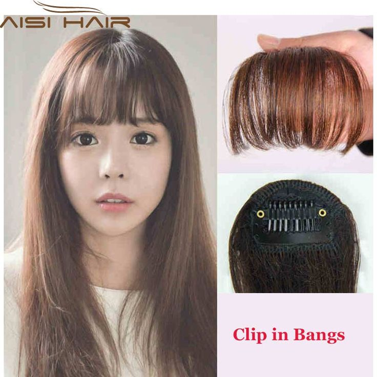 I love bangs but they are pretty high maintenance as I have to trim them everyone 1-2 weeks to keep them at that perfect length. Tried these clip-in bangs, they are very natural-looking! I do prefer fully straight-across bangs though, so i wear these as side-swept ones. (affiliate link)