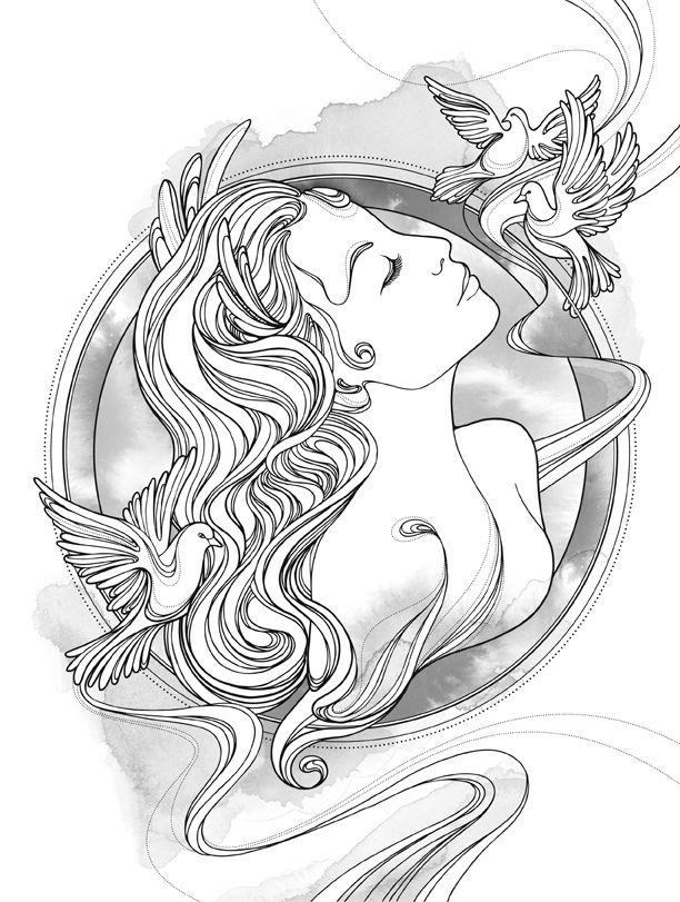 greek goddess aphrodite drawing - Google Search