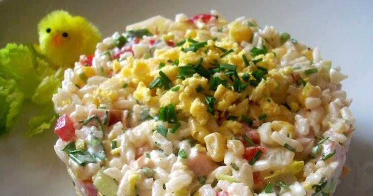 Smaczna Pyza: Sałatka ryżowa