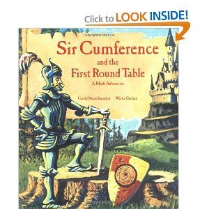 Sir Cumference and the First Round Table (A Math Adventure) -: Worth Reading, Books Worth, Math Adventure, Cindy Neuschwander, Round Tables, Math Books, Sir Cumference, Kid, Children S
