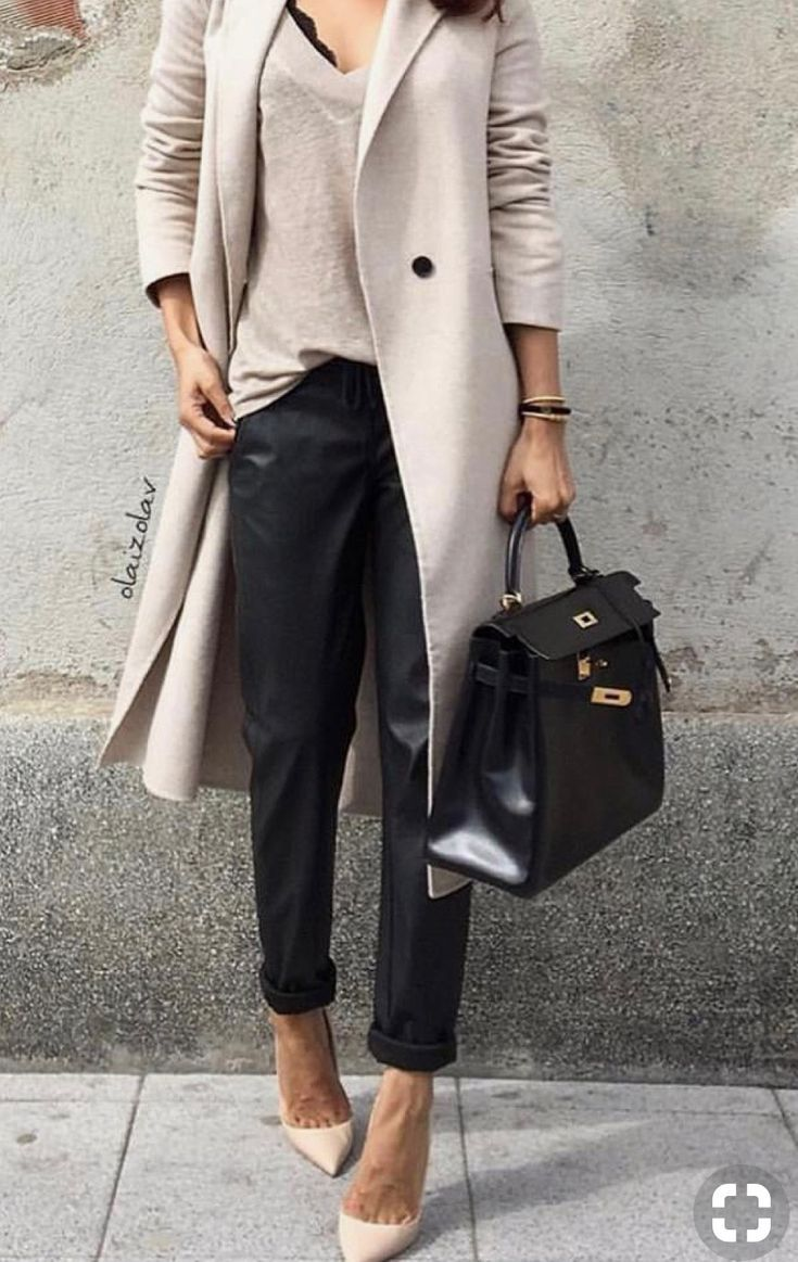 dadc8b04156c Neutral outfit inspiration that is anything but boring. Pracovné Odevy