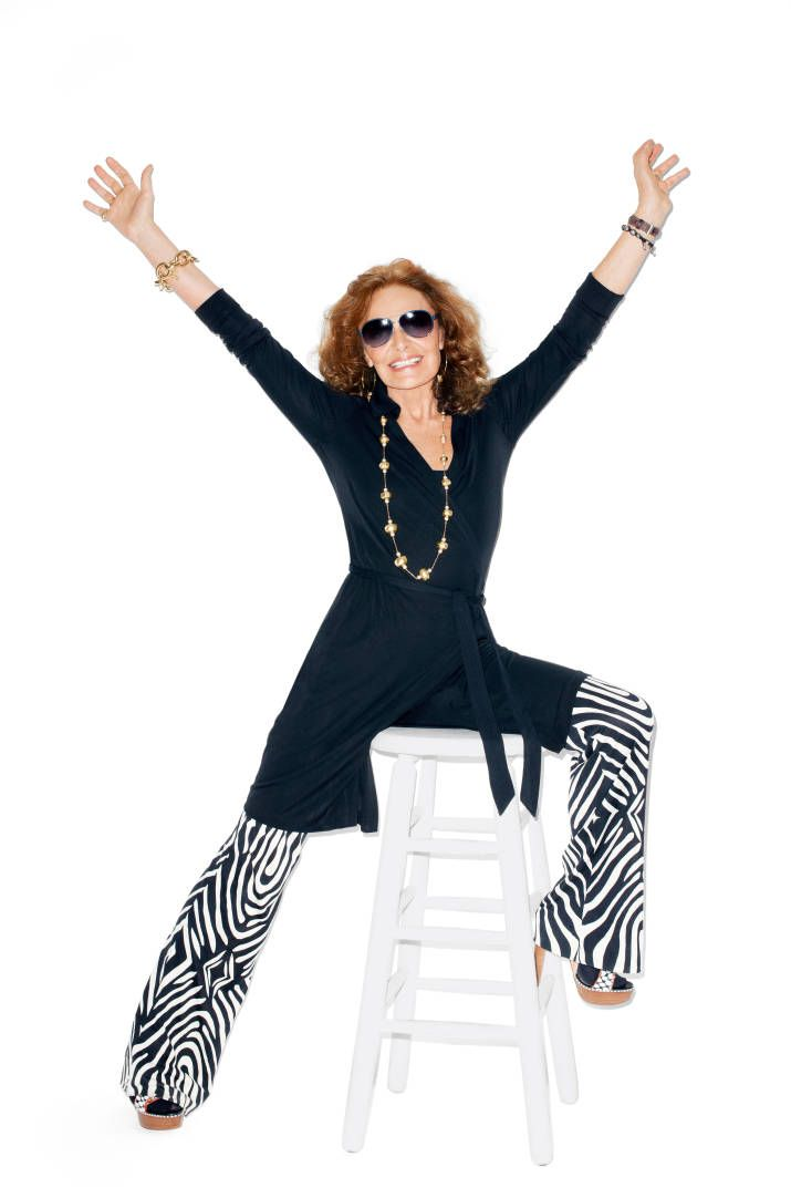 Diane von Furstenberg's Wrap Dress Turns 40