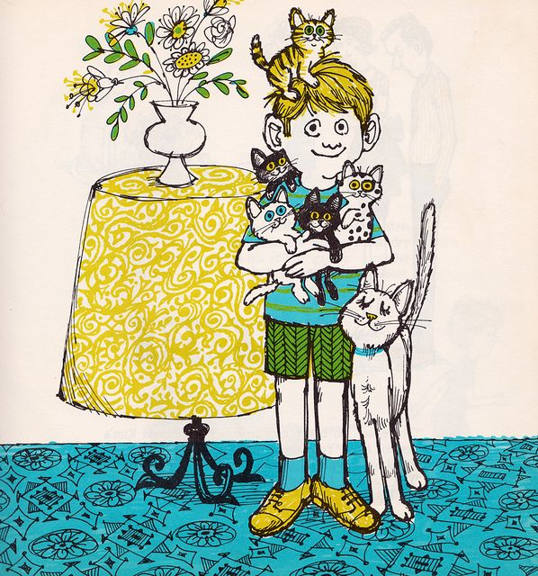 One Kitten for Kim by my vintage book collection (in blog form), via Flickr
