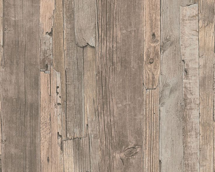 Details zu decoworld 95405 3 tapete vlies holz optik for 3d wood wallpaper