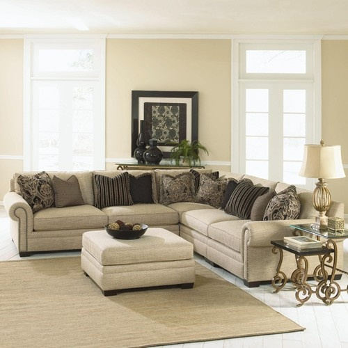 Grandview Traditional Sectional Sofa by Bernhardt - Different color w/o all the pillows | For the Home | Pinterest | Sectional sofa Traditional and Pillows : traditional sectional sofa - Sectionals, Sofas & Couches