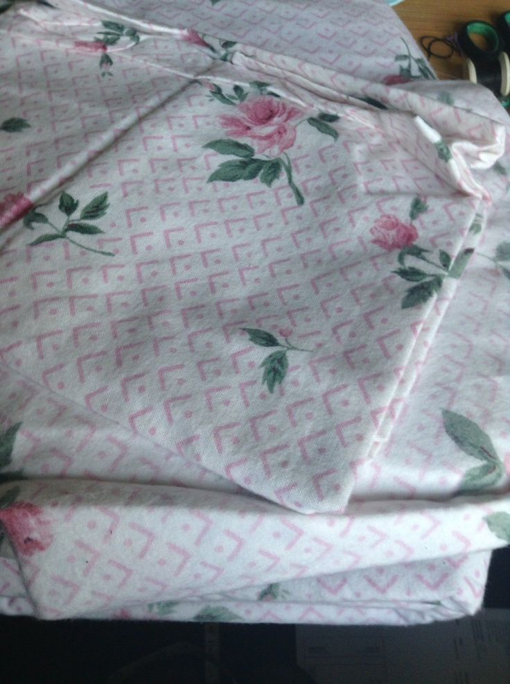 Pair Vintage Floral Rose Brushed Cotton Flannelette Sheets + 2 Pillowcases Bnwot | eBay