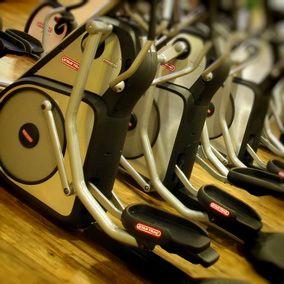 Cardio trenažéry ve fitness doubleDRIVE club Jihlava
