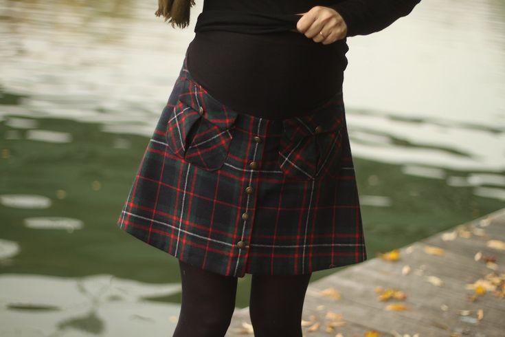 Jupe #4 : la jupe Rosari (...de grossesse) - Annie Coton