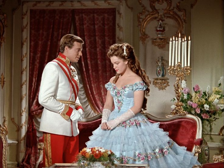 Sissi movie (1955) costumes! Love this blue dress!