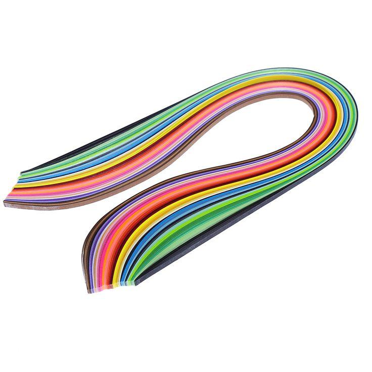 Papírové proužky/ papírový filigrán na quilling 160 ks za 25 Kč/včetně dopravy  #aliexpress #nákupy #online #hračky #tvoření #děti #malování #quilling #barvy #papíry #nůžky #nástroje #domácí #potřeby #vychytávky  #3dmámablog.cz