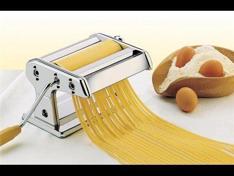 Massa Caseira de Macarrão - Rápido, Fácil e Sem Sujeira (Homemade Pasta) - YouTube