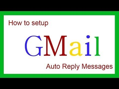 How to setup a gmail auto reply message  Need more help? set up a private lesson http://tutoring.blogwithsamantha.com
