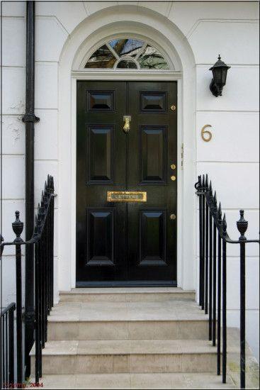 london door house architecture