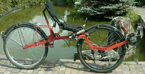 the Staiger Air bike... From the FlevoClub ...FlexoBike fan website...Very good descriptions of various FWD recumbents with some background history.
