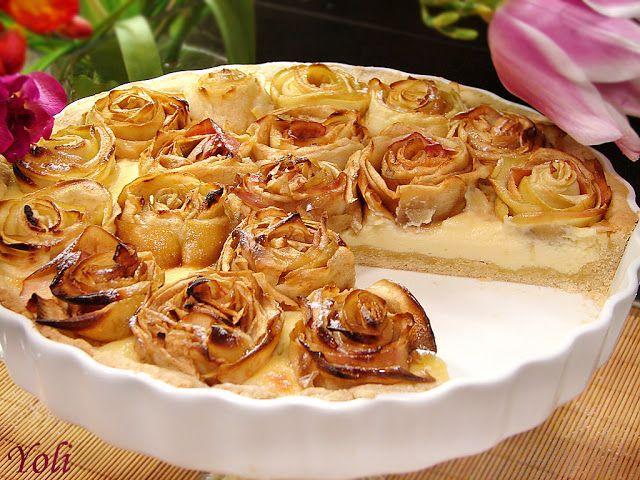 Вкусно с Йоли: Ябълков пай на рози