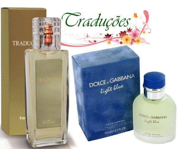 Gold nº 64 = D&G Light Blue O perfume Light Blue feminino possui uma impressionante fragrância que evoca o espírito da Itália. O céu infinito, o mar profundo, as noites deslumbrantes e a alegria contagiante das pessoas.  Aroma floral e frutal, que combina cedro siciliano com folhas de maçã verde, capturando a essência de um verão ensolarado na Sicília. O frescor do bambu, a intensidade do jasmim e o encanto da rosa branca, fundem-se às madeiras cítricas, ao âmbar e à delicada carícia do…
