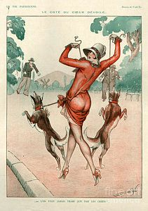 Drawing - 1920s France La Vie Parisienne Magazine by The Advertising Archives