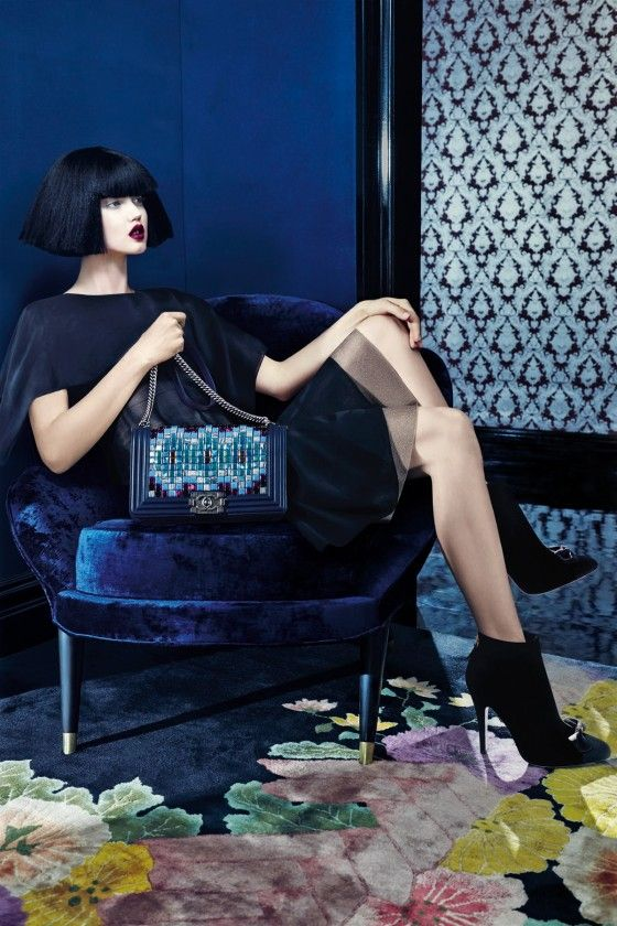 Lindsey Wixson by Emma Summerton for Neiman Marcus September 2015 [book] - CHANEL Fall 2015