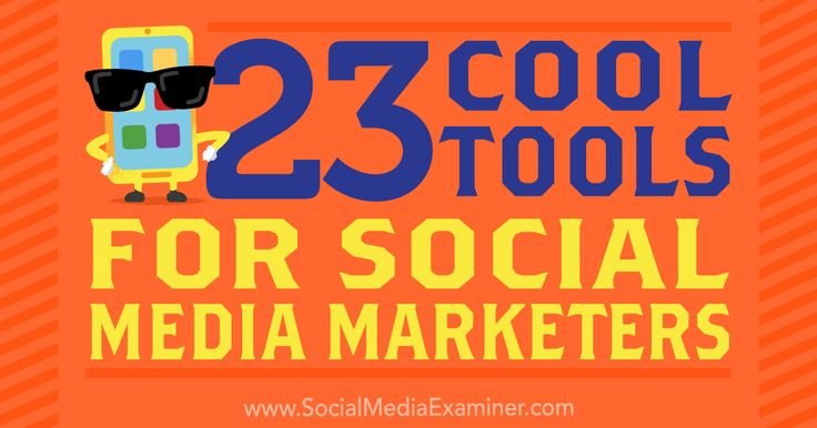 @mike_stelzner shares 23 Cool Tools for Social Media Marketers SocialMedia Examiner http://www.socialmediaexaminer.com/23-cool-tools-for-social-media-marketers/ #networkmarketing #socialmediamarketing