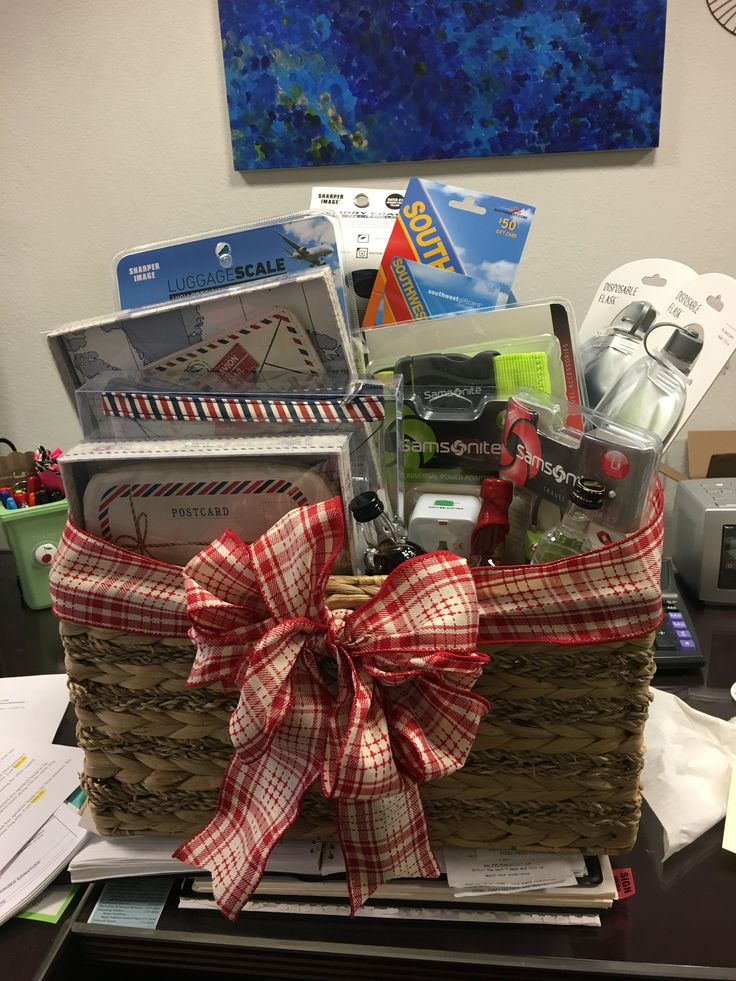 Best 25+ Travel gift baskets ideas on Pinterest   Vacation gift ...