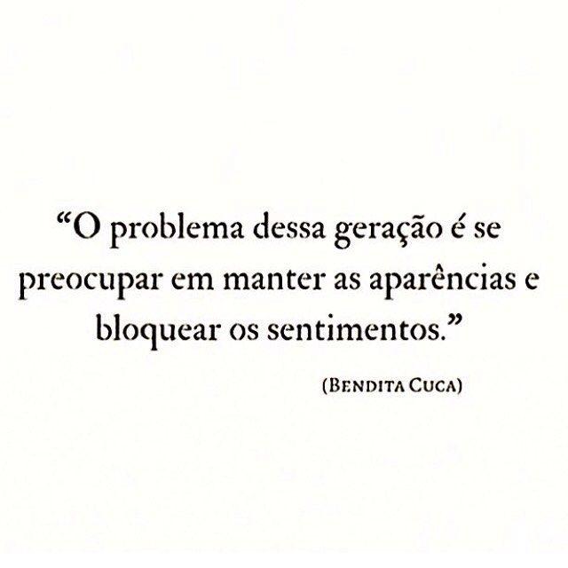 """1,905 Gostos, 8 Comentários - ByNina (Carolina Carvalho) (@instabynina) no Instagram: """"#regram @benditacuca  #frases #comportamento #pessoas #sentimentos"""""""