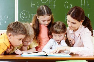 Jonge kinderen in het onderwijs
