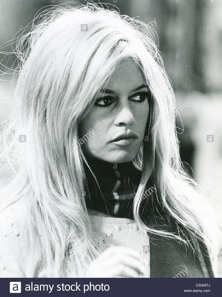 BRIGITTE BARDOT French film actress about 1965 Stock Photo, Royalty Free Image: 37861618 - Alamy