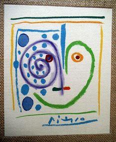 Camilo Jose` Cela / Pablo Picasso -   Geschichten ohne Liebe. - 1968