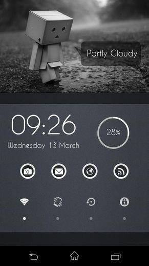 みんなのホーム画面 No166 【機種】xperia z 【転載許可】可 【ホームアプリ】nova 【アイコンパック】 Buttonized 【ウィジェット】 zooper Wight,Glaeja,SwitchPro Widget 【ひとこと・解説】ダンボー好きなので