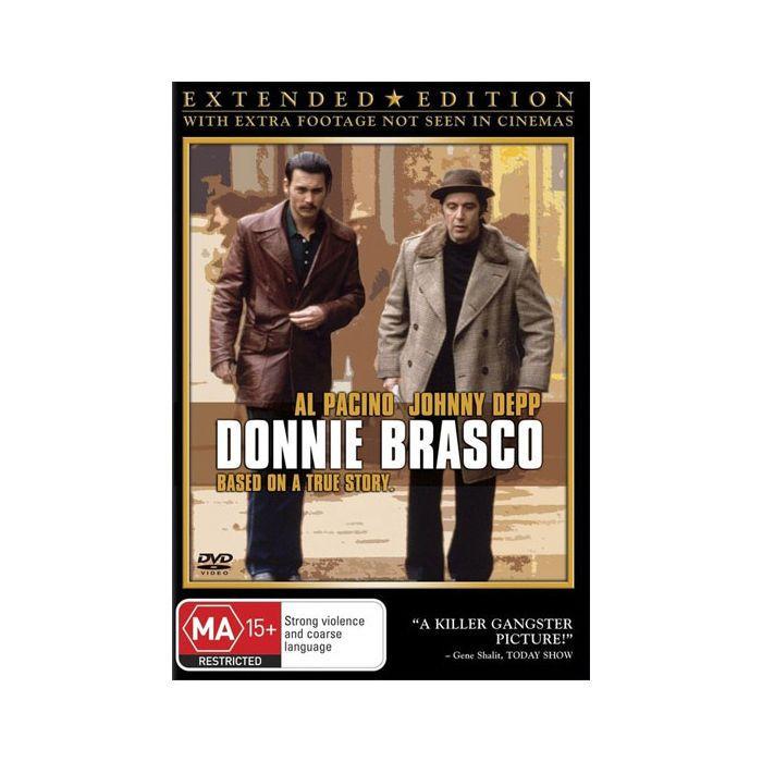 Donnie Brasco DVD Brand New Region 4 Aust. - Al Pacino, Johnny Depp
