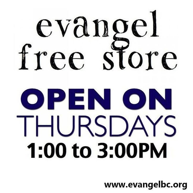 The #FreeStore provides food clothing or a listening ear for those in need. Reaching out with the love of #Jesus. #EvangelKelowna