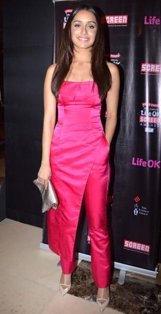 Indian actress, Shraddha Kapoor...