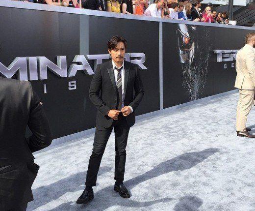 "Lee Byung Hun Appears at ""Terminator Genisys"" Premiere at Los Angeles | Koogle TV"