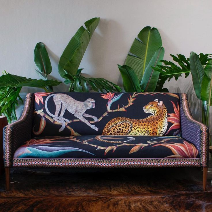 """305 Likes, 27 Comments - Ardmore Design (@ardmoredesign) on Instagram: """"We're proud to introduce the limited edition Zambezi Sofa, which combines hand-painted elements…"""""""