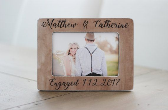 Personalized Engagement Gift She Said Yes Personalized Rustic