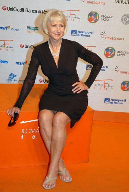 Helen Mirren. Love this LBD!