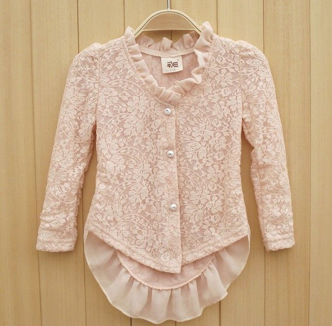 2013 girls fall  clothing,kids lace blouse ,FSQ01-in Blouses & Shirts from Apparel & Accessories on Aliexpress.com