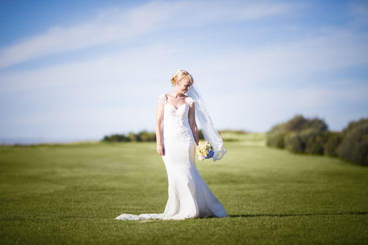 Photo de la robe de la mariée, La Rochelle