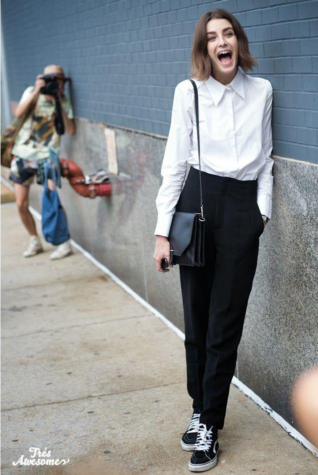 Camisa+calça preta+tênis