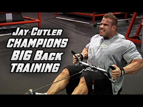 Jay Cutler's Olympia Sized BIG Back Workout For MASS At Las Vegas Gold's...