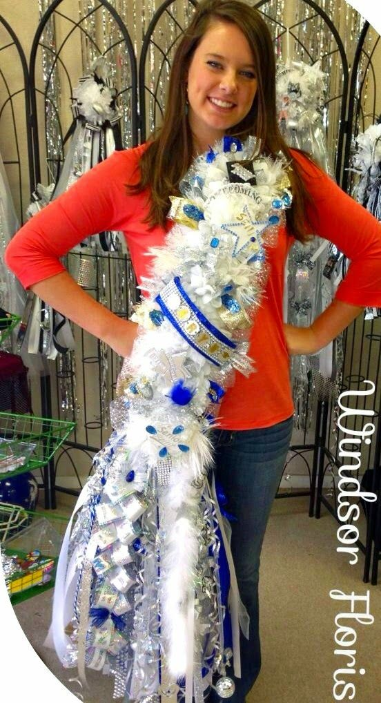 More Big Ole Texas Homecoming Mums