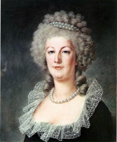 Marie-Antoinette vers 1791 ; pastel de Kucharski.