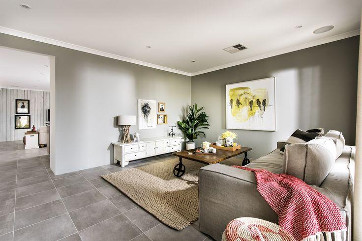 Lounge - Homebuyers Centre Outback Display Home - Ellenbrook, WA Australia