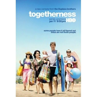 I adore this show Togetherness HBO Series Poster